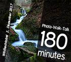 Photo-Walk-Talk vom 02. Dezember 2017, Wildbachtobel bei Hinwil