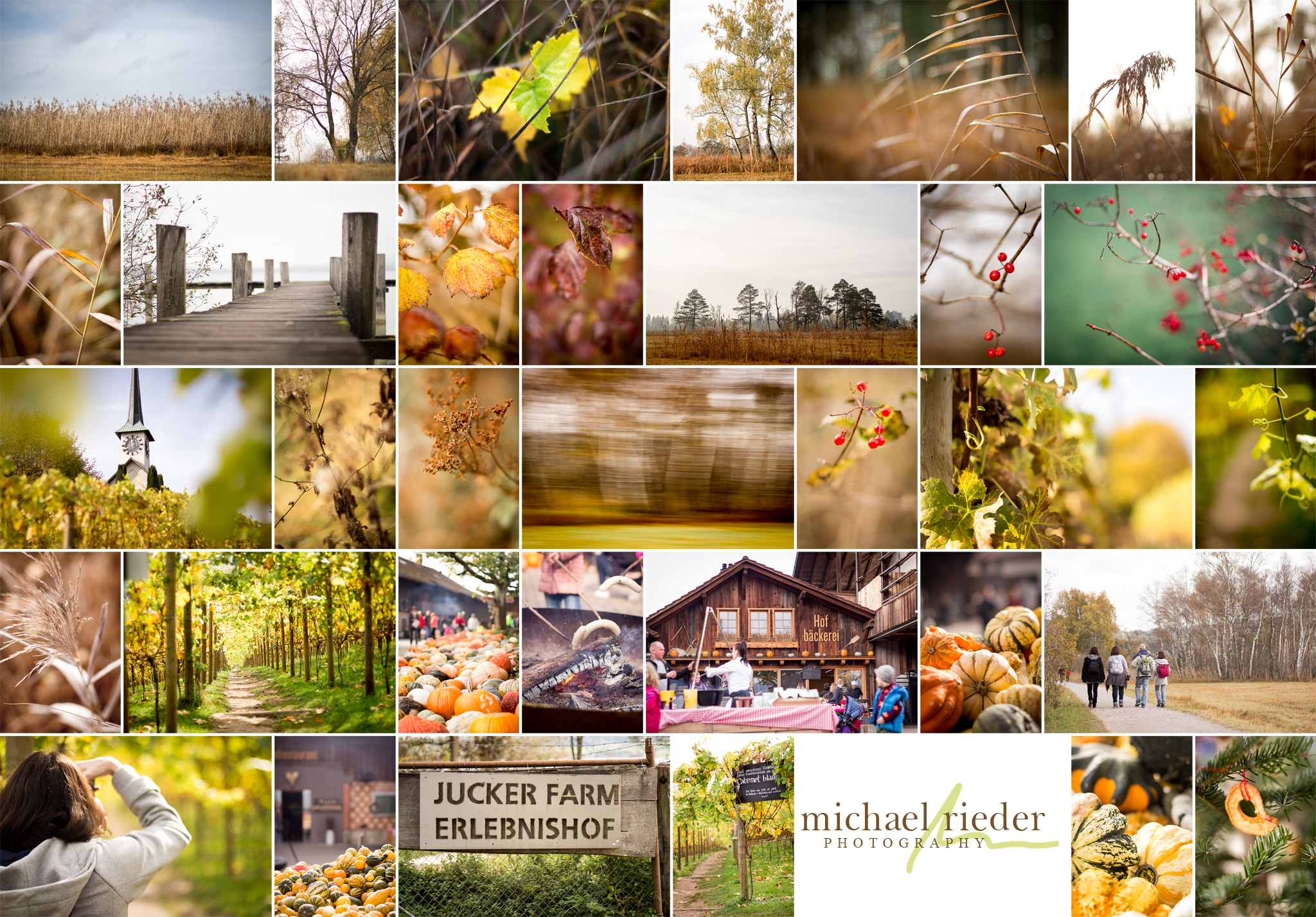 Collage mit Bildresultaten des Photo-Walks vom 28. Okt. 2017