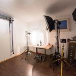 Surchlicht-Foto-Box (80x80x80cm), ideal auch für Dauerlichtquellen