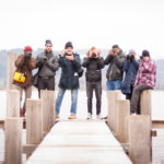 Photo-Walk-Talk vom 3. Februar 2018 Gruppenfoto am Pfäffikersee - Michael Rieder Photography