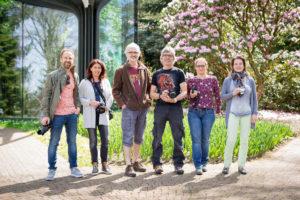 Gruppenfoto im botanischen Garten Grüningen - Michael Rieder Photography