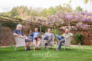 "Gruppenfoto im Hotel ""Villa Carona"" am Fotokurs Carona-Lugano mit Michael Rieder Photography"