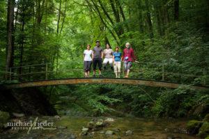 Gruppenfoto im Küsnachter Tobel | Michael Rieder Photography
